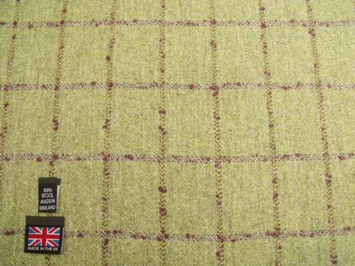 Country Tweed  Windowpane Check Fabric AZ95